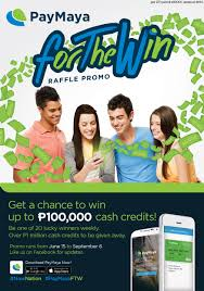 for the win get a chance to win up to p cash credits join the for the win promo and you can win up to p100 000 cash credits we ll have 20 winners every week from 15 to 6 2016 totaling over p1