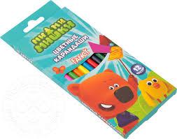 Купить <b>Набор карандашей</b> Fancy <b>Action</b>! <b>цветные</b> 12 цветов с ...