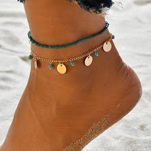 Popular <b>Foot Jewelry Beads</b> Bracelets Leg Chain-Buy Cheap Foot ...