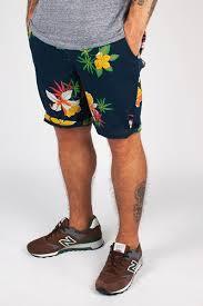 Шорты <b>OBEY</b> Working Man Ii Short (Hawaiian-Navy, 32) | www.gt-a.ru
