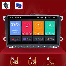 1 Din Android 10 <b>Car</b> Radio GPS Navigation For VW Passat B6 ...