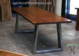 wood slab dining table beautiful: sapele mahogany slab conference table desk on massive stainless steel mid century modern trapezoid legs