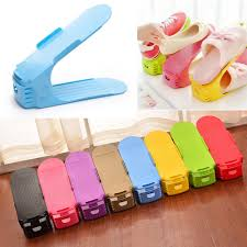 Home Organization <b>Creative</b> Plastic <b>Shoes Rack</b> Organizer ...