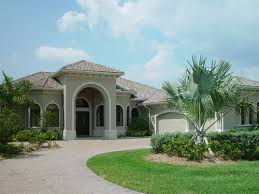 Florida House PlansHouse Plan ALP  Front  Corner pocket sliding glass doors