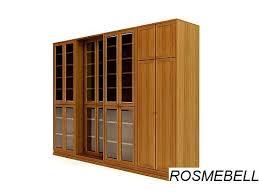 Комплект -11. Раздвижные <b>книжные шкафы</b>+шкаф для одежды ...