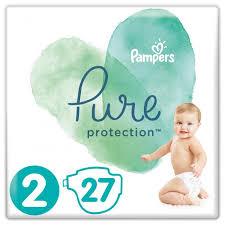 ROZETKA   <b>Подгузники Pampers Pure Protection</b> Размер 2 Mini 4 ...