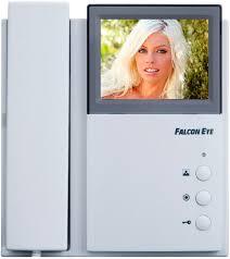 <b>Видеодомофон Falcon Eye FE-4CHP2</b> белый купить в Москве ...