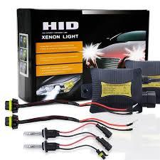 55W HID Xenon Headlight Conversion KIT <b>H1 H3 H4</b> H7 H10/9005 ...