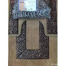 print rug bathroom set  animal print bathroom rugs