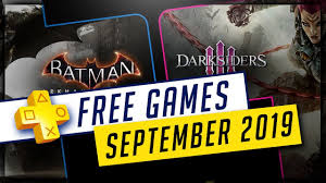 PlayStation Plus September 2019 Free PS4 Games - Batman ...