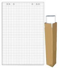 Блок бумаги для <b>флипчартов 275159</b> клетка 20лист. (упак.:5шт ...