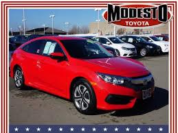 2016 Honda Civic for Sale in Turlock, CA - Autotrader