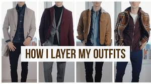 Layering <b>Fall</b>/<b>Winter Men's Outfits</b> | <b>Men's Fashion</b> | Outfit Ideas ...