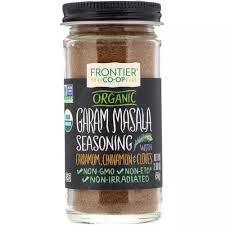 Frontier Natural Products <b>Organic Garam Masala Seasoning</b> ...