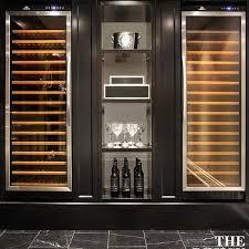 temperature controlled wine coolers basement wine cellar idea