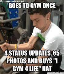 Gym 4 life - Gym Memes, a massive collection of gym memes and more ... via Relatably.com