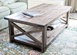 view in gallery diy rustic x coffee table build your own rustic furniture