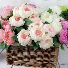 <b>silk</b> flower European <b>1 Bouquet Artificial Flowers</b> Fall Vivid 5Heads ...
