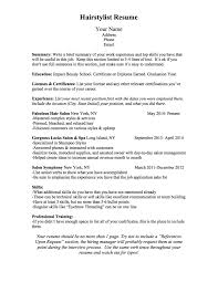 bcn script what should a hairstylist resume look like click here to your resume worksheet