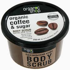 "<b>Скраб для тела</b> Organic Shop ""<b>Бразильский</b> кофе"", 250 мл"