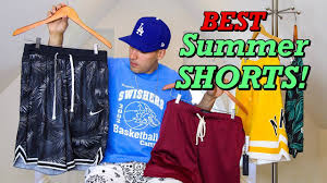TOP 5 BEST <b>SHORTS</b> FOR <b>SUMMER</b> 2019! 5 DIFFERENT STYLE ...