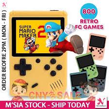 <b>800</b> Games in <b>1</b> Mini 8 Bit Built-In Game <b>Classic Retro</b> Video ...
