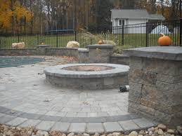 decoration pavers patio beauteous paver: paver patio with circular planter paver patio with circular planter