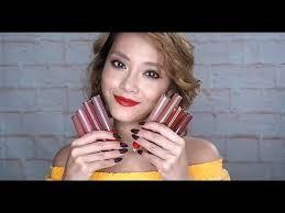 <b>Armani</b> Beauty MATTE NATURE Lip Maestro Collection Swatches ...