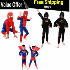 Fantasia Disfraces spiderman superman <b>batman</b> children party ...