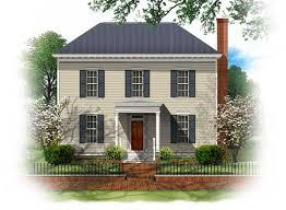 BSA Home Plans  Westover  Georgian  Historic