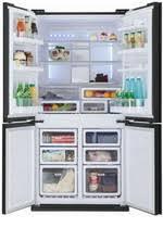 Многокамерный <b>холодильник Sharp SJ-FJ 97 VBK</b> купить в ...