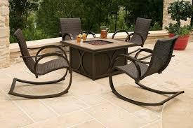 pit patio set chairs