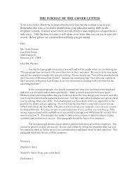 proper cover letter best examples of cover letters resume proper cover letter best examples of cover letters