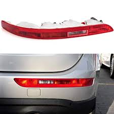Clidr Rear Bumper Reflector Left/Right Side Tail Light ... - Amazon.com