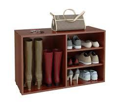 Купить обувницу в прихожую <b>Мастер Лана</b>-2 ПОЛ-2 (1С+1П) <b>орех</b> ...