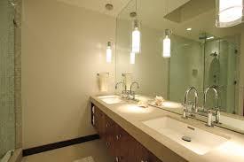 contemporary bathroom by north hollywood general contractors globus builder bathroom vanity pendant