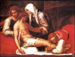 Risultati immagini per giovanni e maria sotto la croce