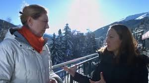 photo essay seven stories of women entrepreneurs cherie blair from davos 2016 our ceo sevi simavi talks jill huntley from accenture about our