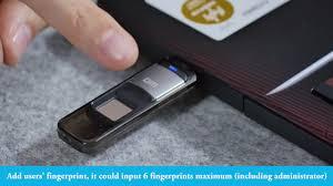 how to use DM <b>fingerprint usb</b> flash drives PD061 and PD065 ...