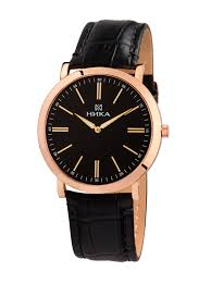 Купить золотые <b>мужские</b> наручные <b>часы НИКА</b> Slimline артикул ...