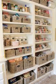 Great Kitchen Storage 20 Best Pantry Organizers Basket Organization Style And Cabinets