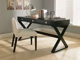 full size of desk appealing modern writing desks manufature wood material black finish x shape awesome home office desks