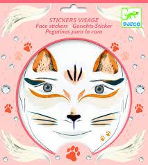 DJECO <b>Наклейки для лица</b> Кошка 09214 - лучшая цена на ...