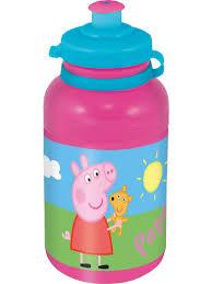 <b>Бутылка</b> пластиковая (спортивная, 400 мл). <b>Свинка Пеппа</b> Stor ...