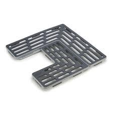 <b>Подложка для раковины</b> универсальная SinkSaver™ серая-белая
