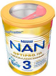 Сухая молочная <b>смесь</b> Nestle <b>NAN 3 Гипоаллергенный</b>, 400 г ...