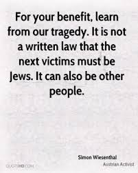 Simon Wiesenthal Quotes | QuoteHD