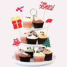 Snowman Baking Cups Picks <b>100 Piece Christmas</b> Decoration