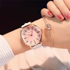 <b>Exquisite simple style women</b> watches luxury fashion quartz ...
