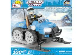 <b>Полицейский</b> снегоход. <b>COBI</b> 1544.